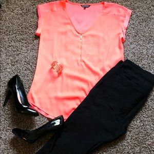 Bright Sherbet Blouse